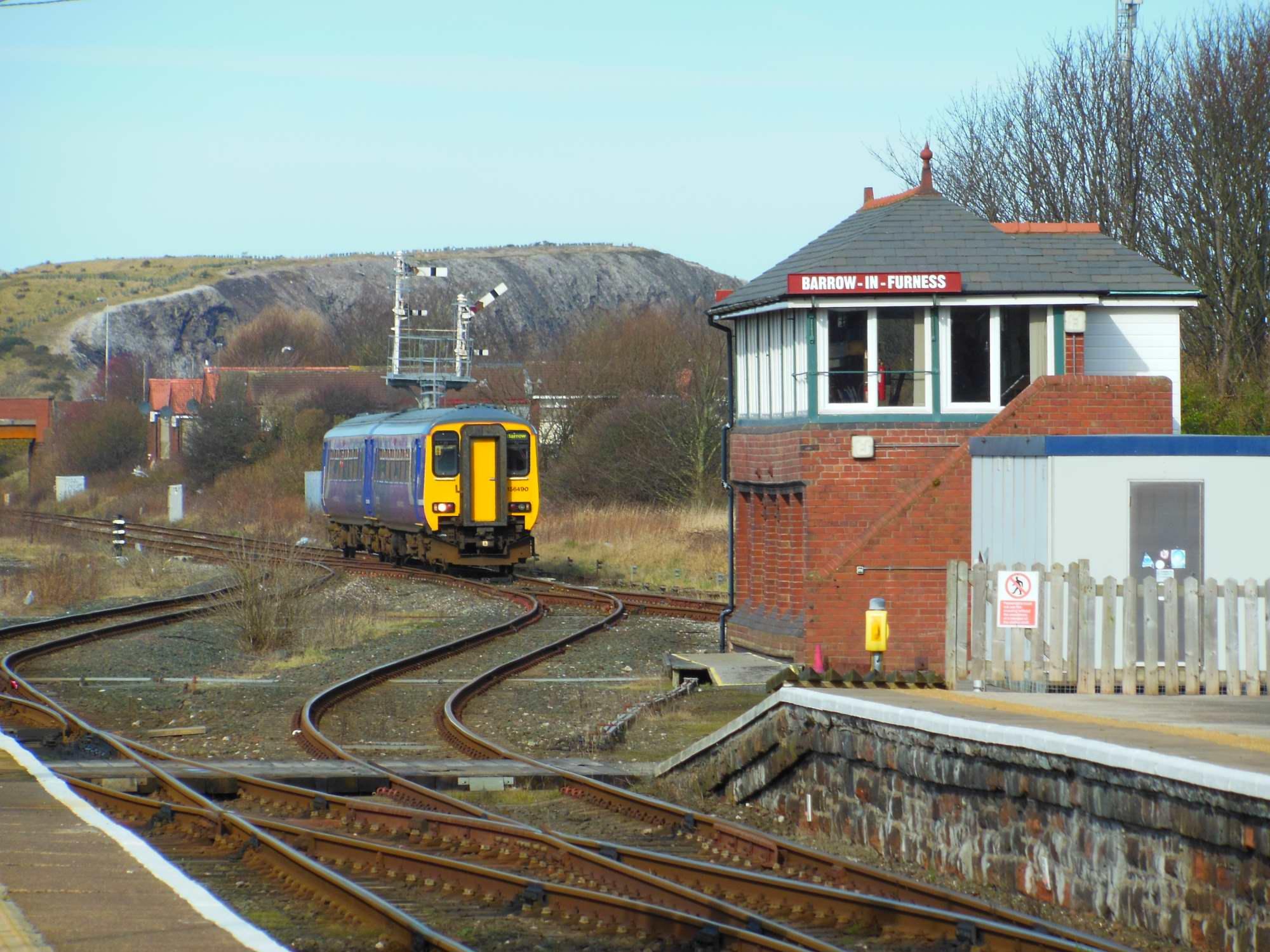 156 Approaching Barrow-in-Furness