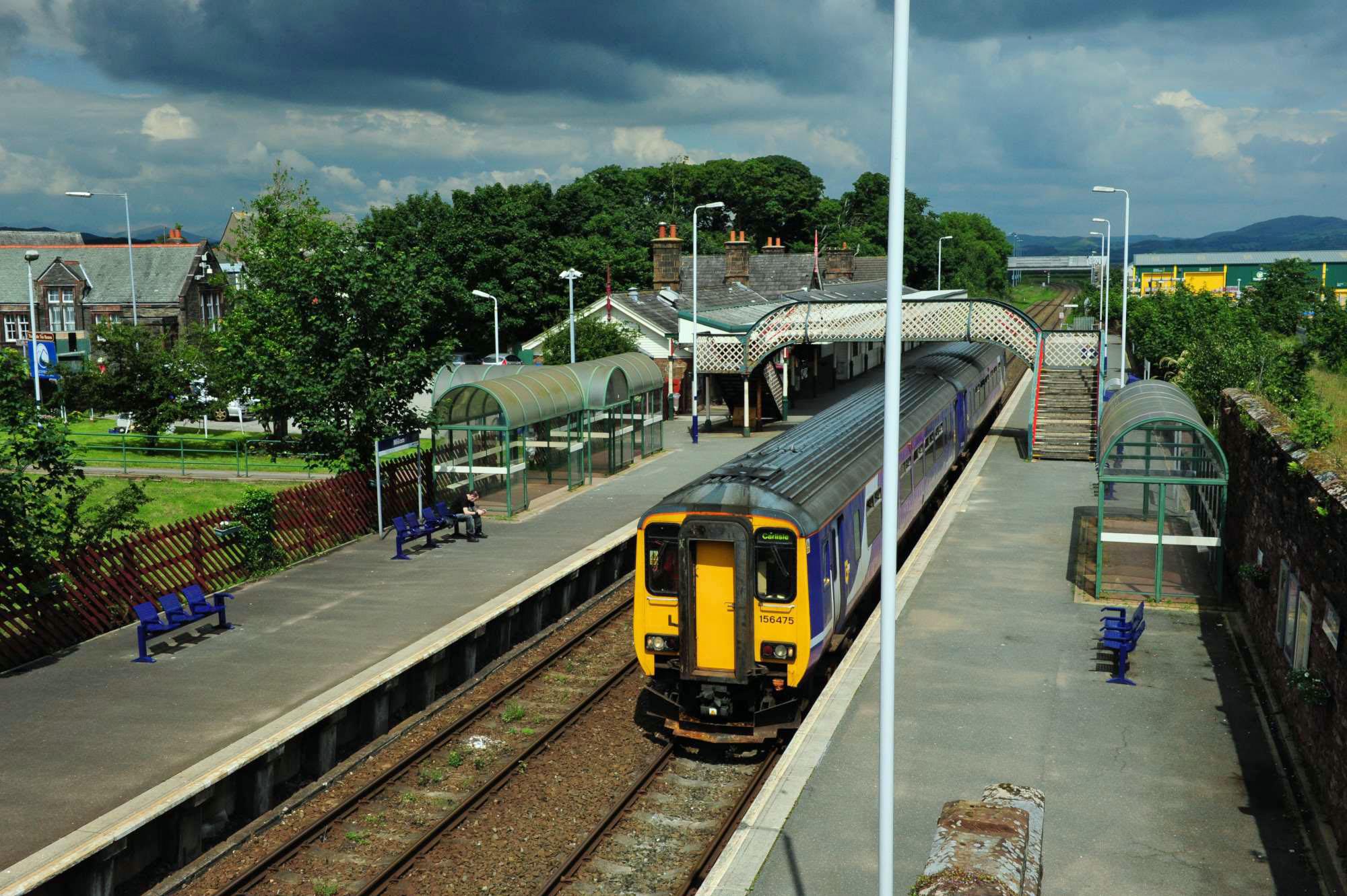 156 at Millom Station