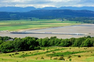 Arnside (Kent) Viaduct from Arnside Knott